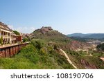 Small photo of Cardona castle is a famous medieval castle in Catalonia.
