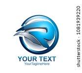 initial letter r logo template... | Shutterstock .eps vector #1081939220