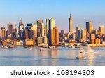 Manhattan Skyline From New...