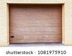 slide door  roller shutter... | Shutterstock . vector #1081975910