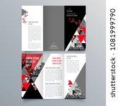 brochure design  brochure... | Shutterstock .eps vector #1081999790