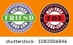 nut allergy   nut free friend...   Shutterstock .eps vector #1082006846