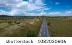 aerial view of a country road... | Shutterstock . vector #1082030606