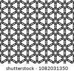 seamless geometric pattern... | Shutterstock .eps vector #1082031350