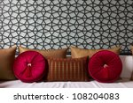 decorated couch with fancy sofa ... | Shutterstock . vector #108204083