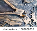 abstract industrial background  ...   Shutterstock . vector #1082050796