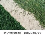 soccer field with natural grass ... | Shutterstock . vector #1082050799