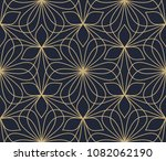 floral ornament. geometric... | Shutterstock . vector #1082062190