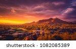 scottsdale arizona desert... | Shutterstock . vector #1082085389