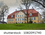 the ancient manor against the... | Shutterstock . vector #1082091740