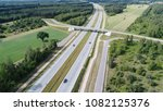 highways from drone | Shutterstock . vector #1082125376