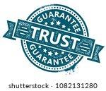 trust rubber stamp   Shutterstock .eps vector #1082131280