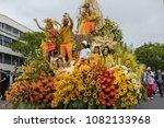 funchal  madeira  portugal  ... | Shutterstock . vector #1082133968