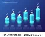 modern isometric infographic... | Shutterstock .eps vector #1082141129