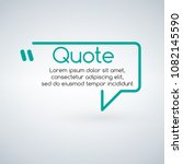innovative vector quotation... | Shutterstock .eps vector #1082145590