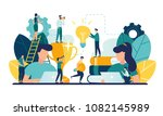 vector creative illustration of ... | Shutterstock .eps vector #1082145989