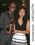 Small photo of LOS ANGELES - APR 29: Wayne Brady, Maile Masako Brady at the 45th Daytime Emmy Awards at the Pasadena Civic Auditorium on April 29, 2018 in Pasadena, CA