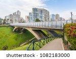 villena rey bridge in... | Shutterstock . vector #1082183000