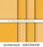 seamless pattern set in arabic... | Shutterstock .eps vector #1082206430