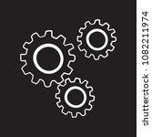 gears sistem doodle icon flat... | Shutterstock .eps vector #1082211974