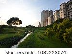 bishan ang mo kio park  as one... | Shutterstock . vector #1082223074