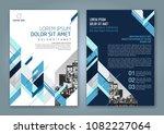 abstract minimal geometric... | Shutterstock .eps vector #1082227064
