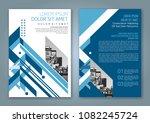 abstract minimal geometric... | Shutterstock .eps vector #1082245724
