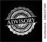 advisory chalkboard emblem... | Shutterstock .eps vector #1082247284