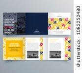 brochure design  brochure... | Shutterstock .eps vector #1082252480
