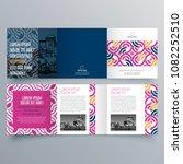 brochure design  brochure... | Shutterstock .eps vector #1082252510