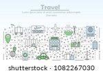 travel advertising illustration....