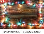 new year's frame. christmas... | Shutterstock . vector #1082275280