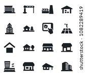 set of vector isolated black... | Shutterstock .eps vector #1082289419
