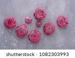 homemade meringues cookies. top ... | Shutterstock . vector #1082303993