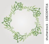 round vector frame made of... | Shutterstock .eps vector #1082309516