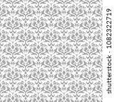 light gray floral ornament on...   Shutterstock .eps vector #1082322719