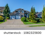 big custom made luxury house... | Shutterstock . vector #1082325830