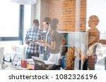 businesslike cooperation among...   Shutterstock . vector #1082326196
