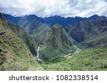 machu picchu  a unesco world... | Shutterstock . vector #1082338514