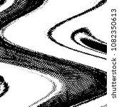 grunge halftone black and white ... | Shutterstock .eps vector #1082350613