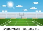 american football arena field... | Shutterstock .eps vector #1082367413