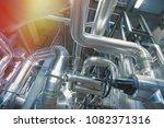 industrial zone  steel... | Shutterstock . vector #1082371316
