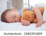 cute little asian 18 months   1 ... | Shutterstock . vector #1082391809