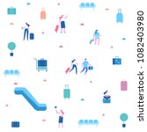 vector people background.  men... | Shutterstock .eps vector #1082403980