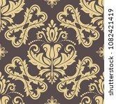 classic seamless vector pattern....   Shutterstock .eps vector #1082421419