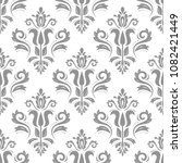 orient vector classic silver... | Shutterstock .eps vector #1082421449