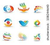 design elements | Shutterstock .eps vector #108244640