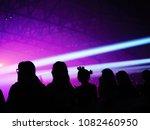 k pop music theme or live... | Shutterstock . vector #1082460950