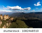 the three sisters and mount... | Shutterstock . vector #1082468510