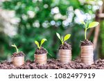 financial growth  stacking... | Shutterstock . vector #1082497919